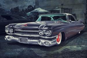 a collector's car