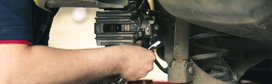 a mechanic at work