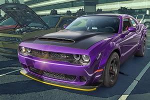 a sports car